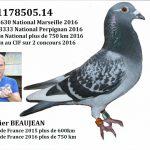 N° 14 : Didier BEAUJEAN de HARGNIES
