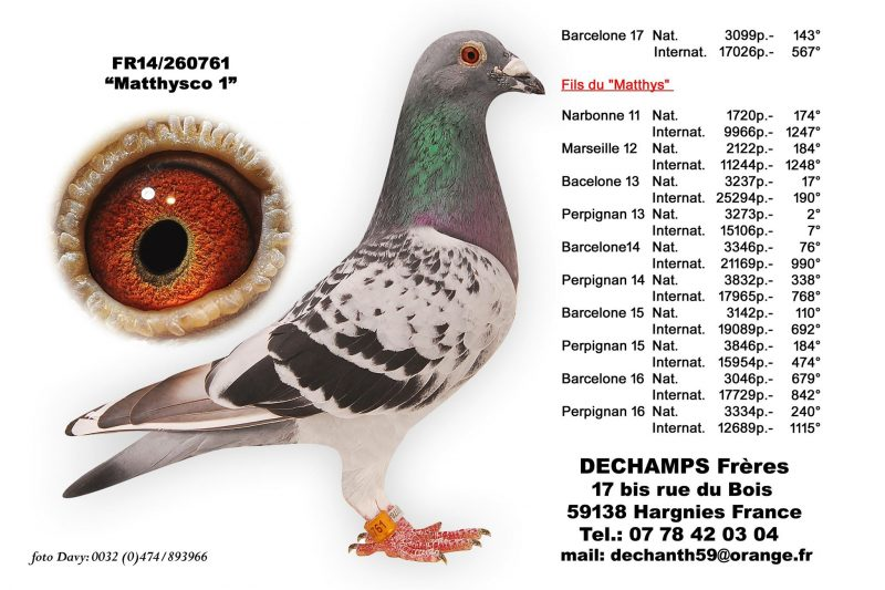 Dechamps Freres Matthysco 1