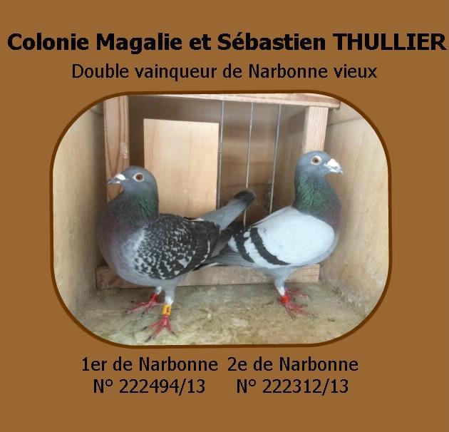 Double vainqueur Narbonne 2016