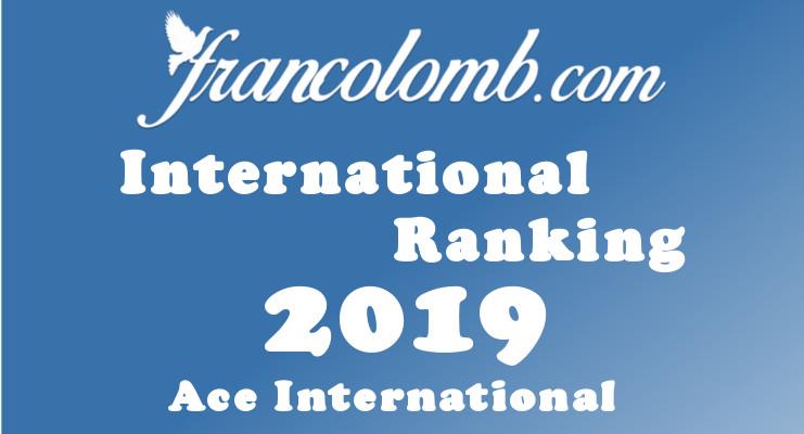 Francolomb International Ranking 2019 Ace International