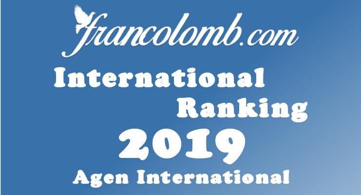 Francolomb International Ranking 2019 Agen