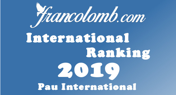 Francolomb International Ranking 2019 Pau
