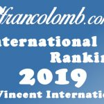 Francolomb International Ranking 2019 – Ace Pigeon St-Vincent