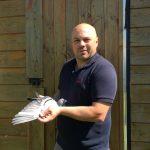Ludovic Marquette (62-Sallaumines) : Plus rapide des 4831 pigeons sur Châteaudun du 28/04/2018