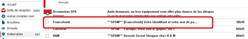 fr inscription mail indesirable