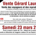 Pré-Vente : Vente Gérard LAURENT de ETALONDES 1ère Partie