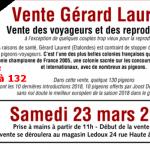 Pré-Vente : Vente Gérard LAURENT de ETALONDES 2ème Partie