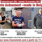 Vente « made in Belgium », la France colombophile