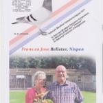 N° 7 : Frans BELLETER de NISPEN (NL)