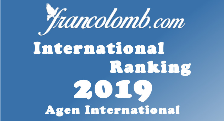 Francolomb International Ranking 2019 Agen