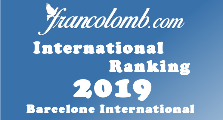 Francolomb International Ranking 2019 Barcelone