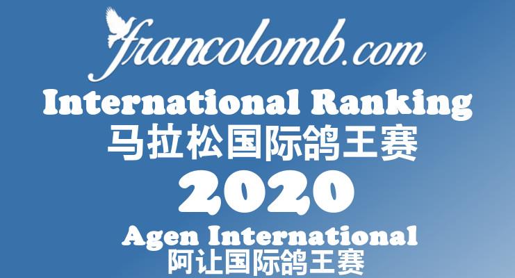 Francolomb International Ranking 2020 Agen