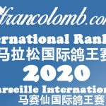 Francolomb International Ranking 2020 – As Pigeons Marseille