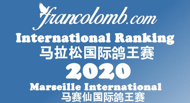 Francolomb International Ranking 2020 Marseille