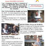 """Vente  : TELETHON """"Les Coulonneux du Pont"""" de COULOGNE"""