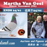 Vente : MARTHA VAN GEEL (NL)